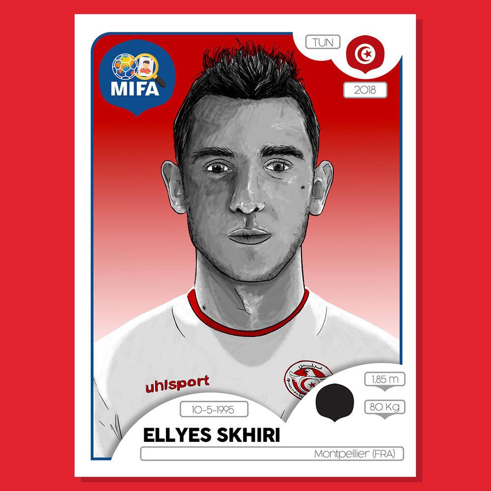 Ellyes Skhiri - Tunisia - by Barry Masterson @BarryMasterson