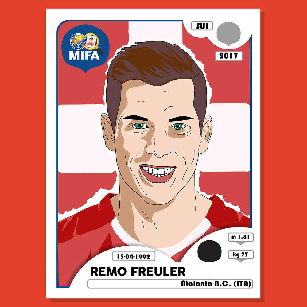 Remo Freuler - Switzerland - by Siddharth Ganacharya @SiddharthSG8