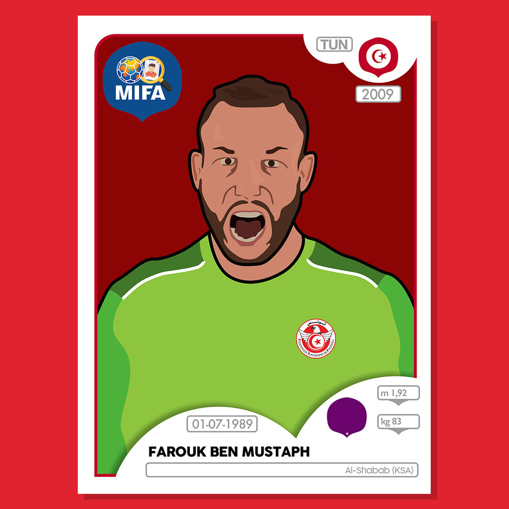 Farouk Ben Mustapha - Tunisia - by Mark Hirons @bluedeerdesign