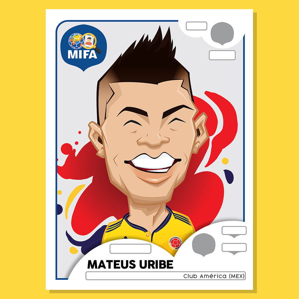 Mateus Uribe - Colombia - by David Garces @david_garces_ilustrador