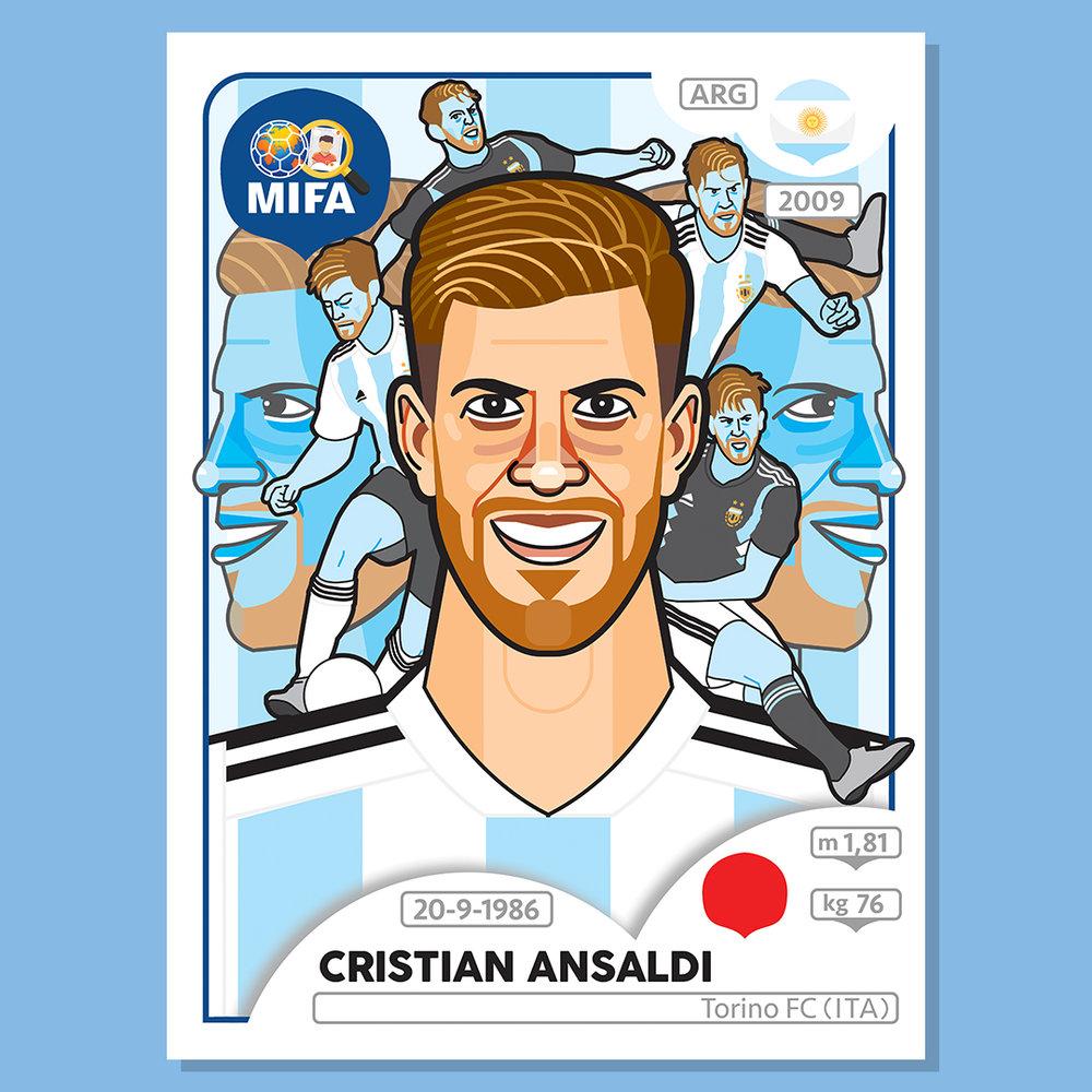 Cristian Ansaldi - Argentina - by Jon Stick @jonstick