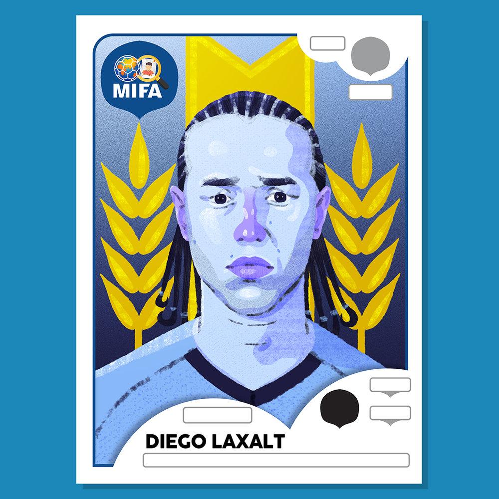 Diego Laxalt - Uruguay - by Matthew Shipley @mshipley24