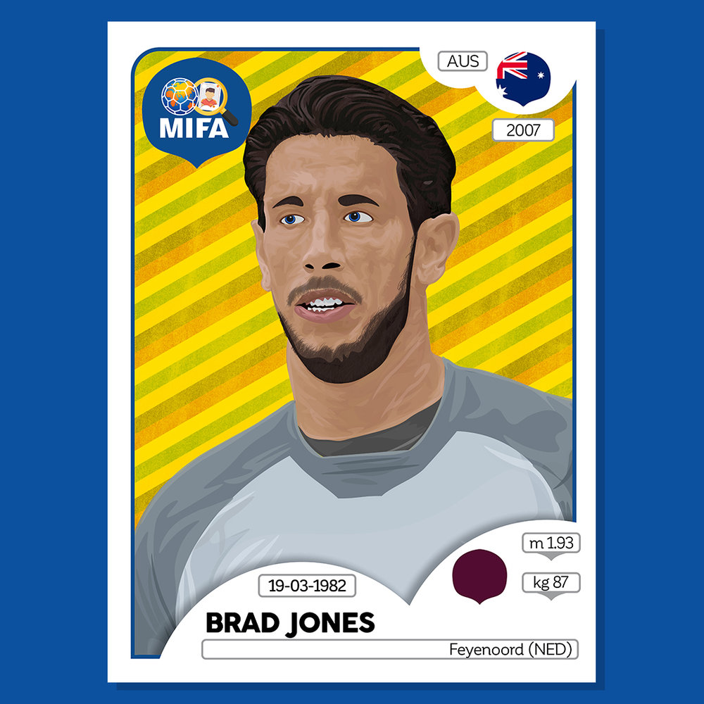 Brad Jones - Australia - by Justin Shannon @JZADesign