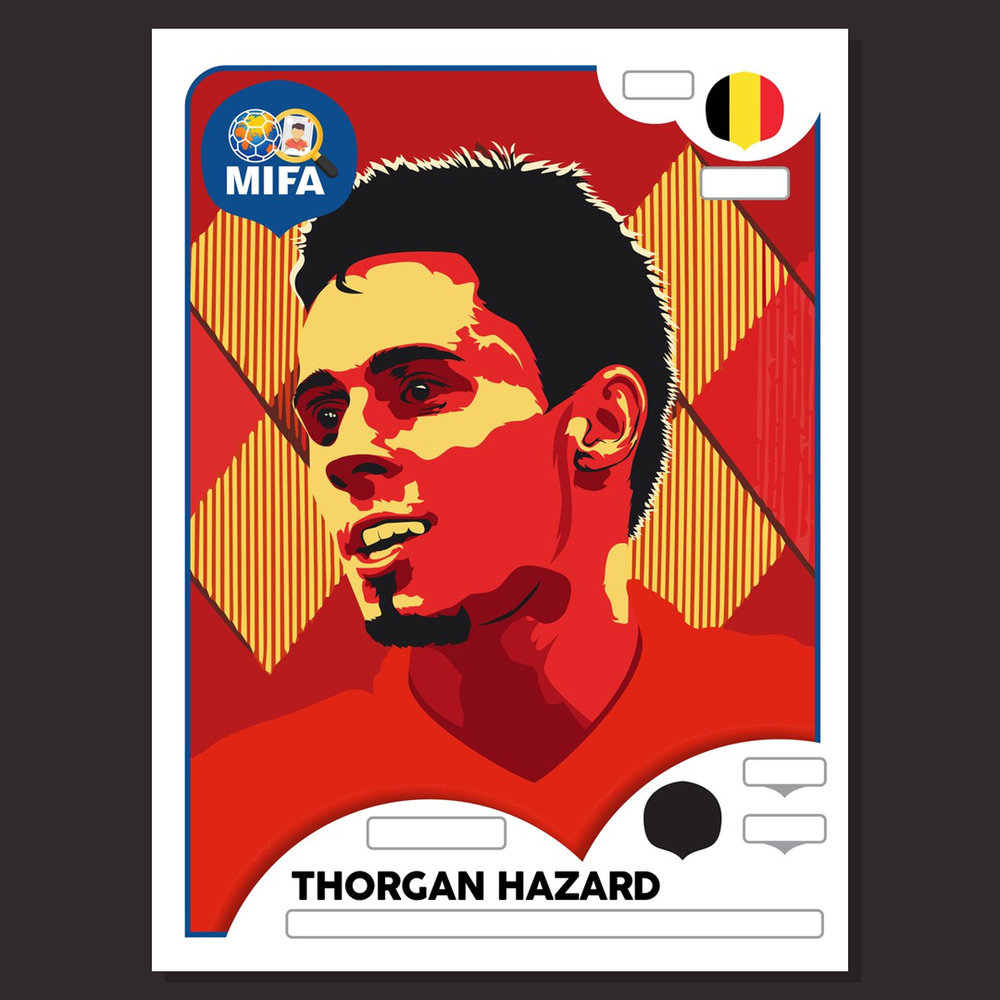 Thorgan Hazard - Belgium - by Catrin Ellis @catrindesigner