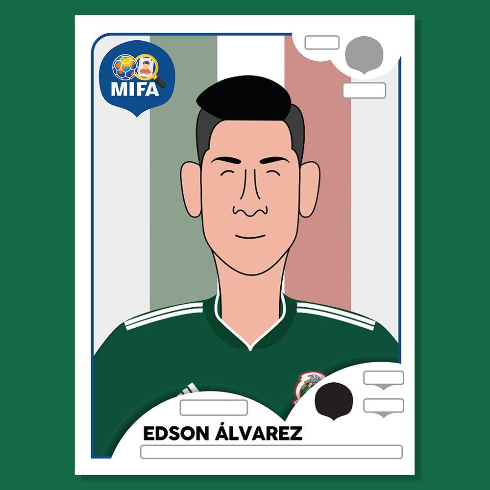 Edson Alvarez - Mexico - by Javier Flowers @Javierft