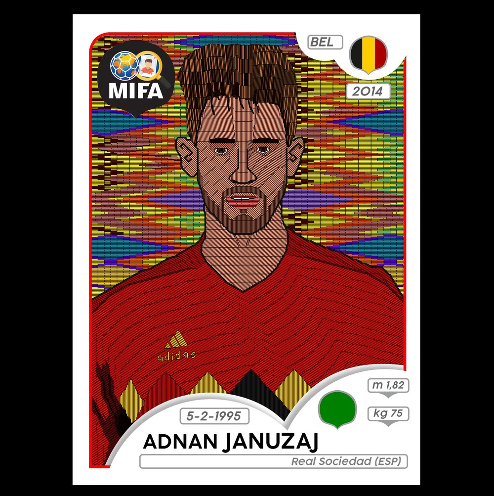 Adnan Januzaj - Belgium - by NOPI @nopifications