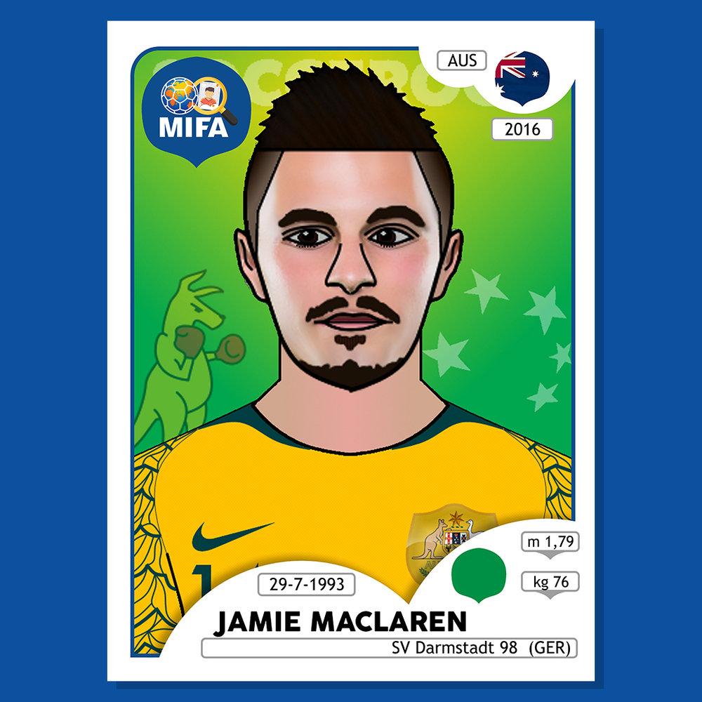 Jamie Maclaren - Australia - by Z.Huss @huzz_g