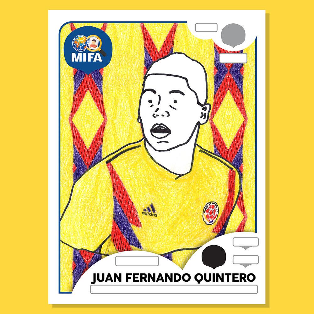 Juan Fernando Quintero - Colombia - by Carlos Valencia @carrrlitosh