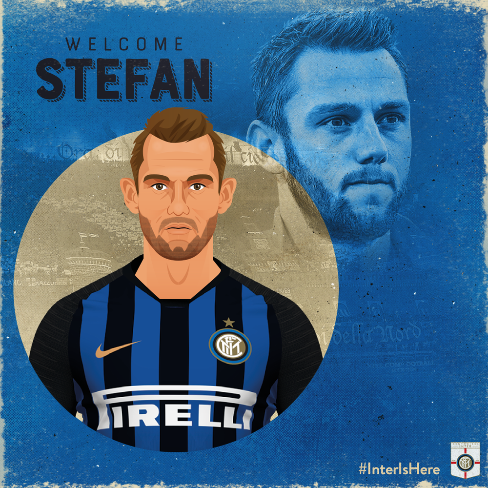 Stefan De Vrij   Dutch Centre Back, Stefan De Vrij was another great coup for Inter as they snapped him up on a free transfer from Serie A rivals Lazio. De Vrij was wanted by a number of clubs but has joined Internazionale to add real quality to their defence.