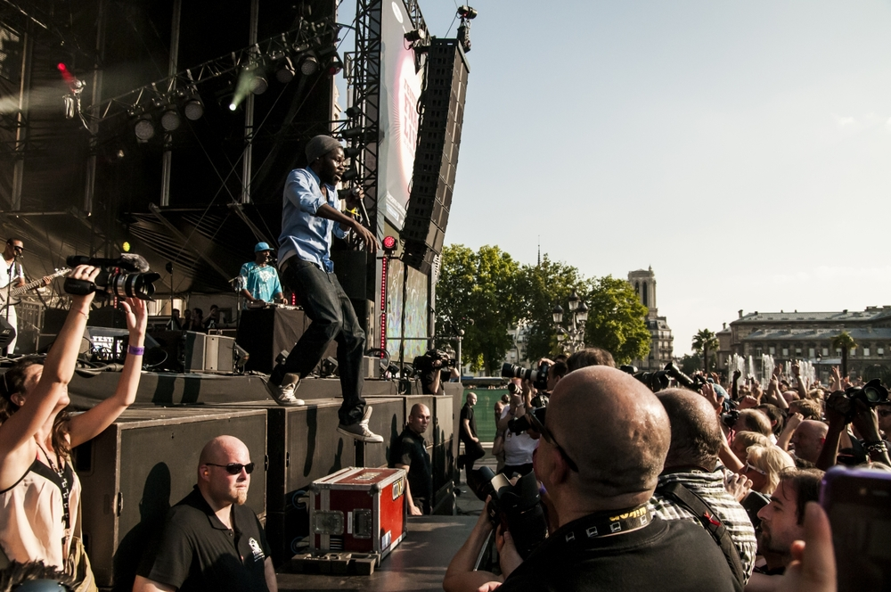 Féfé au Fnac Live 2013