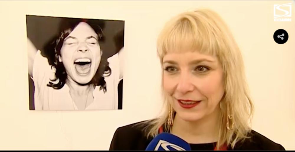 """L'expo """"Le Cri"""" présentée sur TéléSambre"""