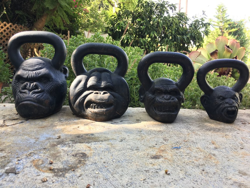 Some of my kettlebell collection…