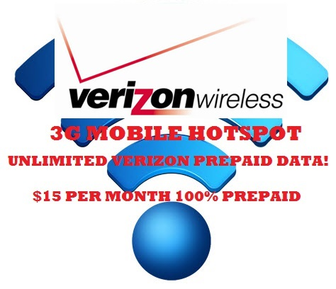 THEY ARE HERE! CUSTOM PROGRAMMED FULLY FLASHED VERIZON PREPAID 3G UNLIMITED HOTSPOT DEVICES! THEY RUN AND STAY RUNNING! GET YOURS TODAY IN OUR ONLINE STORE!