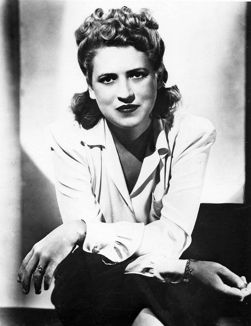 Jacqueline Cochran was orphaned in infancy and later lived with a poor family that traveled to sawmill towns in search of jobs.  She became a reporter, owned a cosmetics firm and worked as a test pilot.  She was the first woman to break the sound barrier, the first woman to fly a bomber across the Atlantic, the first civilian woman to win a Distinguished Service Medal and was elected to the Aviation Hall of Fame in 1992. At her death in 1980, she held more speed, altitude and distance records than any other pilot.