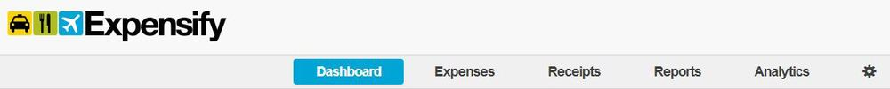 Expensify Toolbar