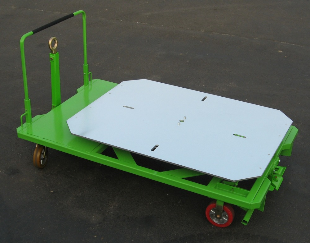 Towable Rotating Cart