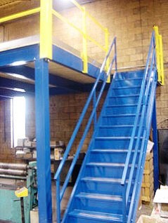 Warehouse Mezzanine Stairs