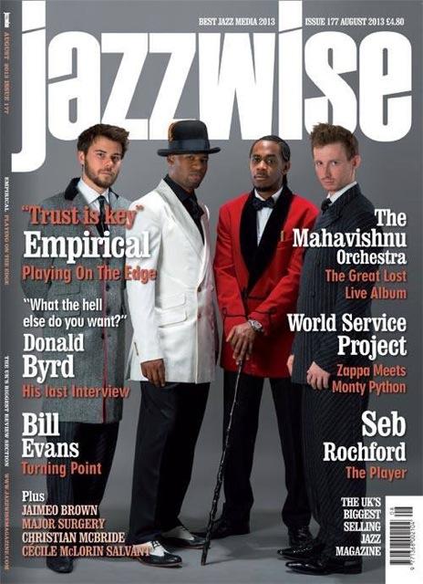 Jazzwise Magazine Aug 2013