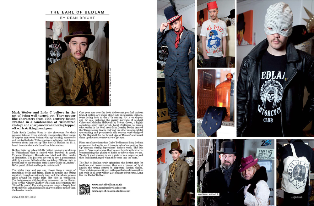 Beige Magazine, March 2012