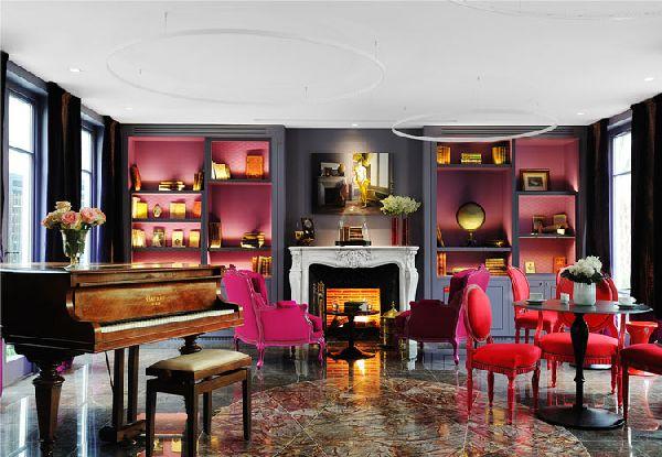 Rhode Island Interior Designers, color blocking, interiorholic.com.jpg