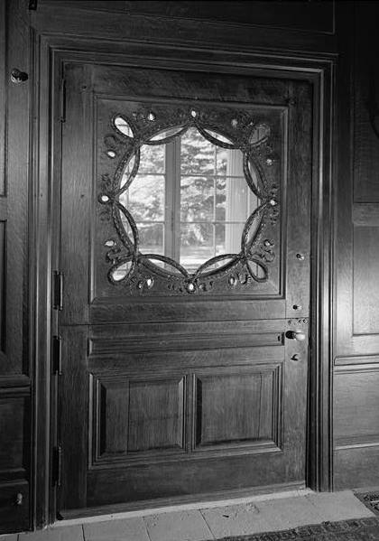 1969 View of Interior Side of Front Door
