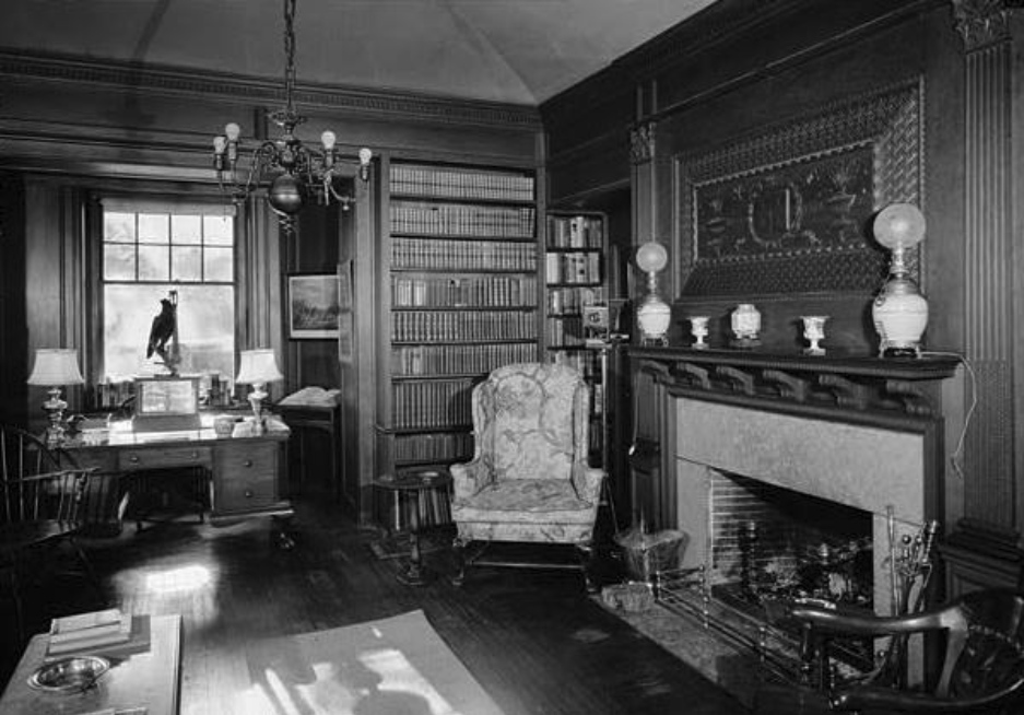 1969 View of Library