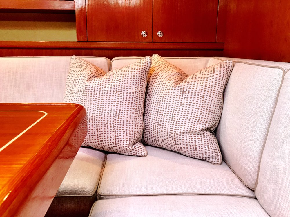 Yacht Interiors & Yacht Upholstery & Cushioons by Maloney Interiors of Newport Rhode Island Boat.jpg