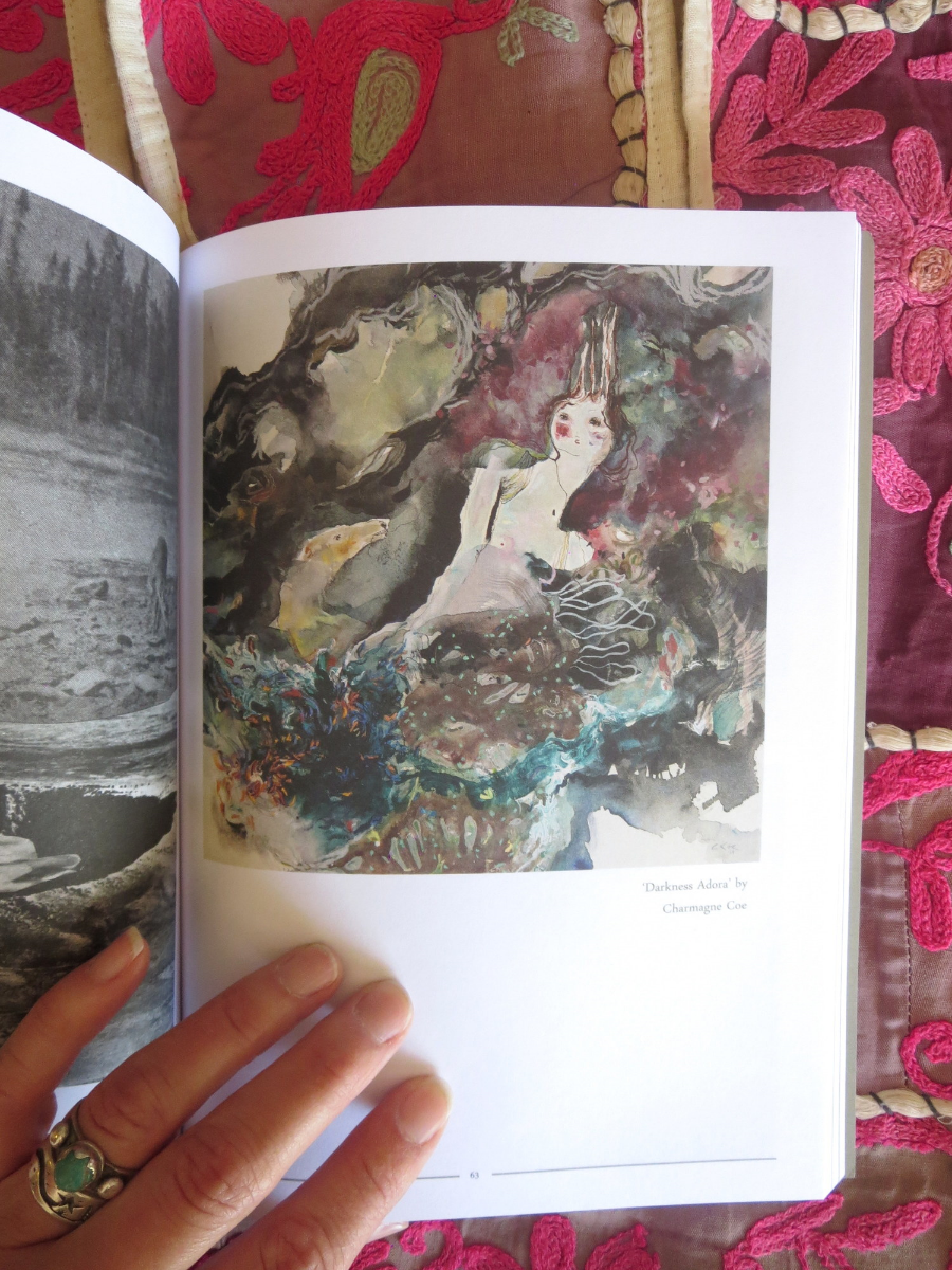Selected paintings included in Viriditas: An Anthology of Contemporary Female Artists. 2013
