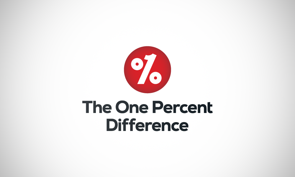 The One Percent Difference