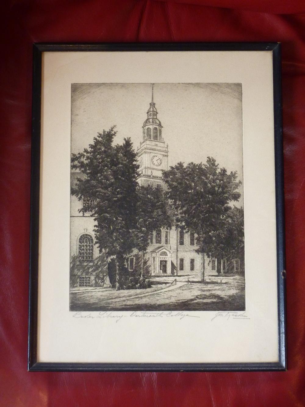 Baker Library Signed Print.JPG