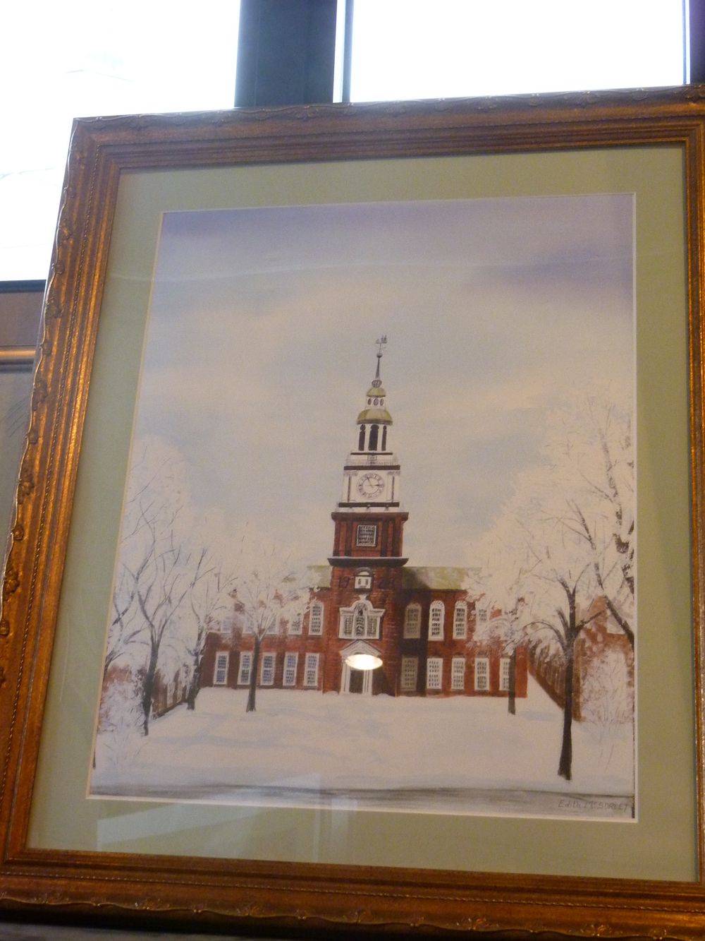 Baker Library Winter Watercolor.JPG