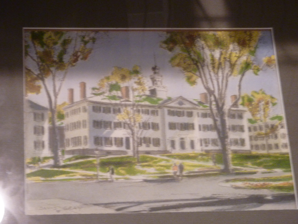 Dartmouth Hall Watercolor 1950s.JPG