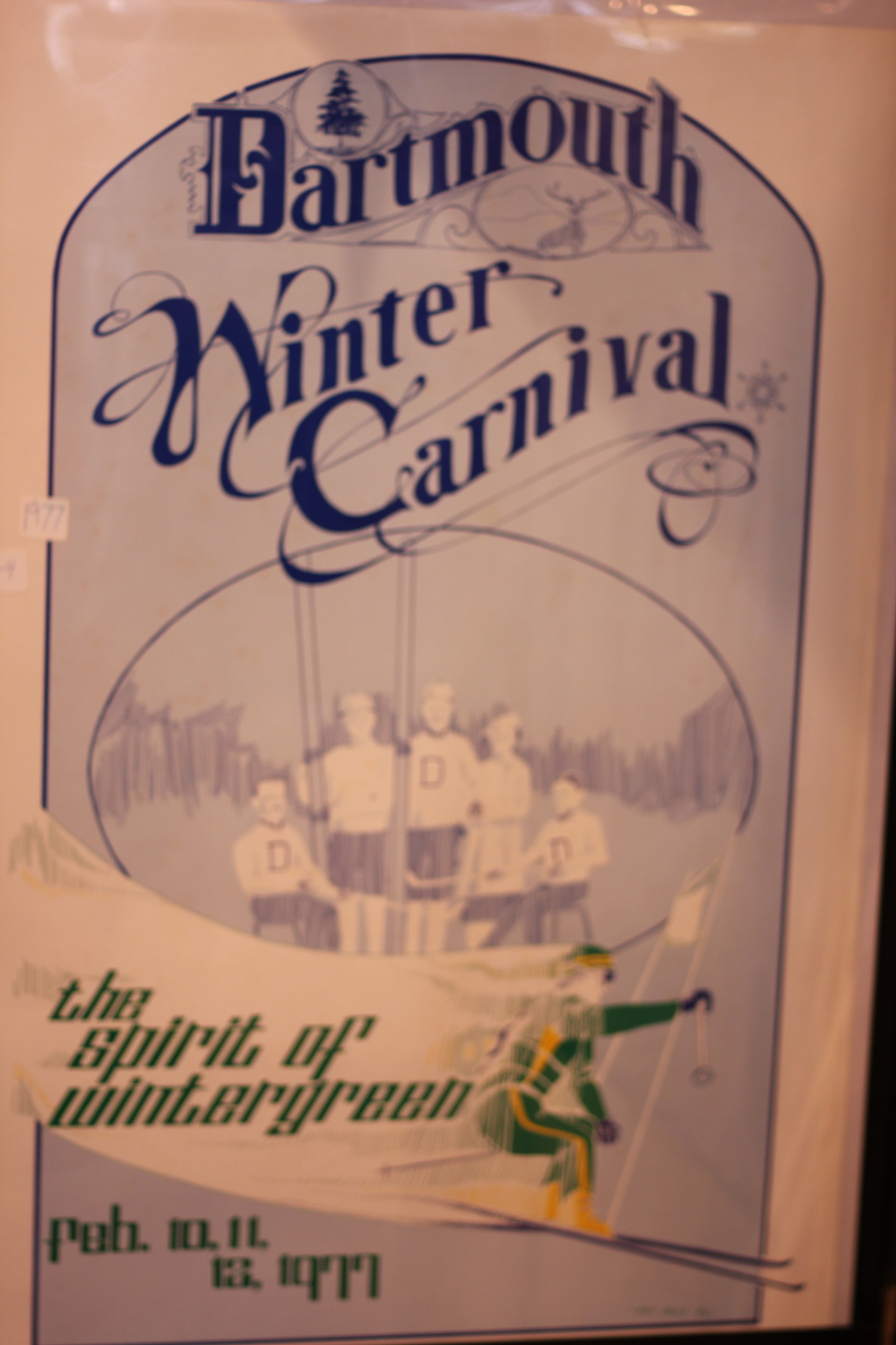 Dartmouth Winter Carnival 1977