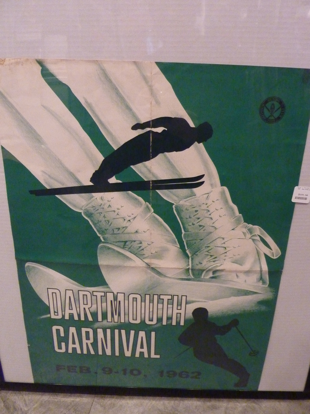 Dartmouth Winter Carnival 1962 (green)