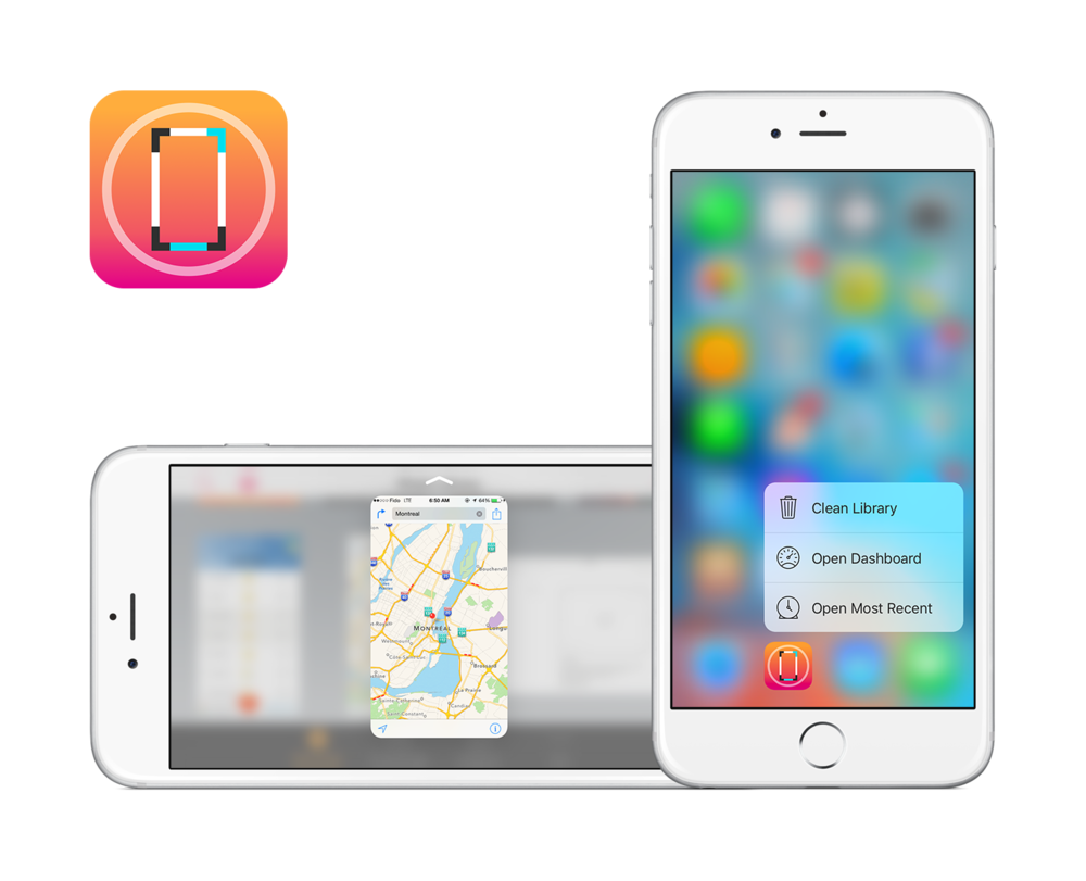 how to move apps on iphone 6s