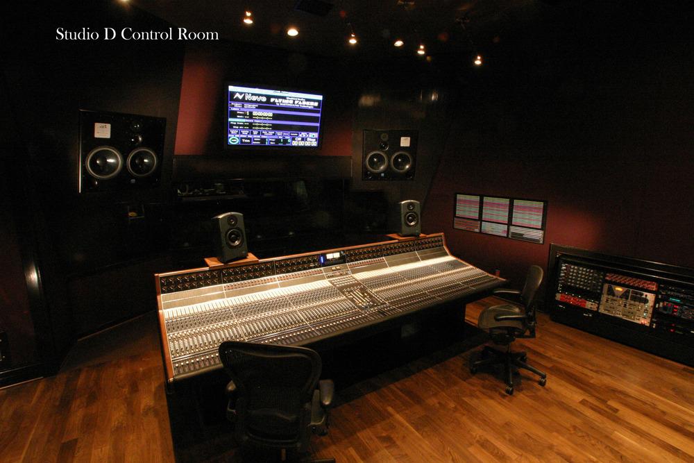 Studio D - Control Room