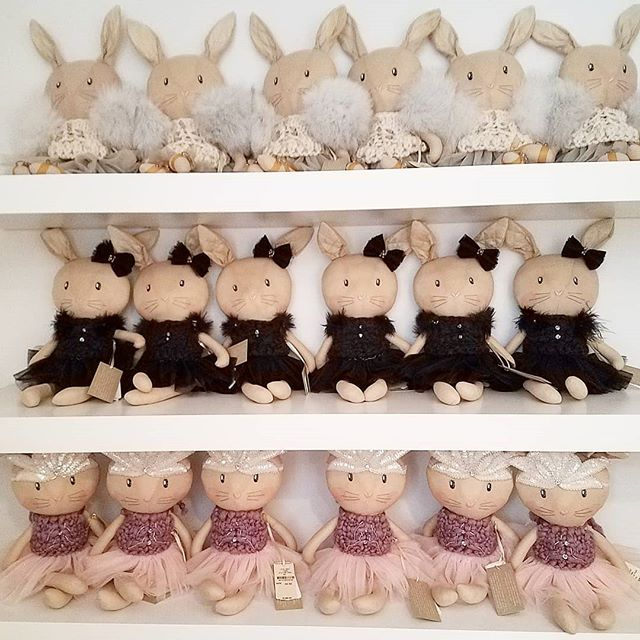 The Pinky Squad. #dolls #handmade #fashion #glam #luxury #kidsfashion