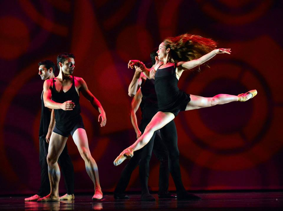 National Choreographer's Initiative | Irvine Barclay Theatre    photo: Dave Friedman