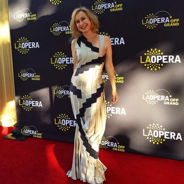 walking the red carpet on opening night    LA Opera |  La Traviata