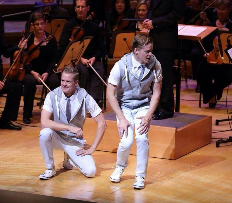 la philharmonic   Disney Hall    direction   creative direction  choreography