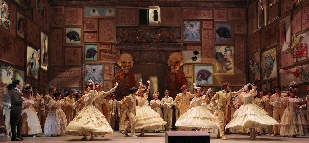 Tales of Hoffman  | LA Opera    photo: Ken Howard