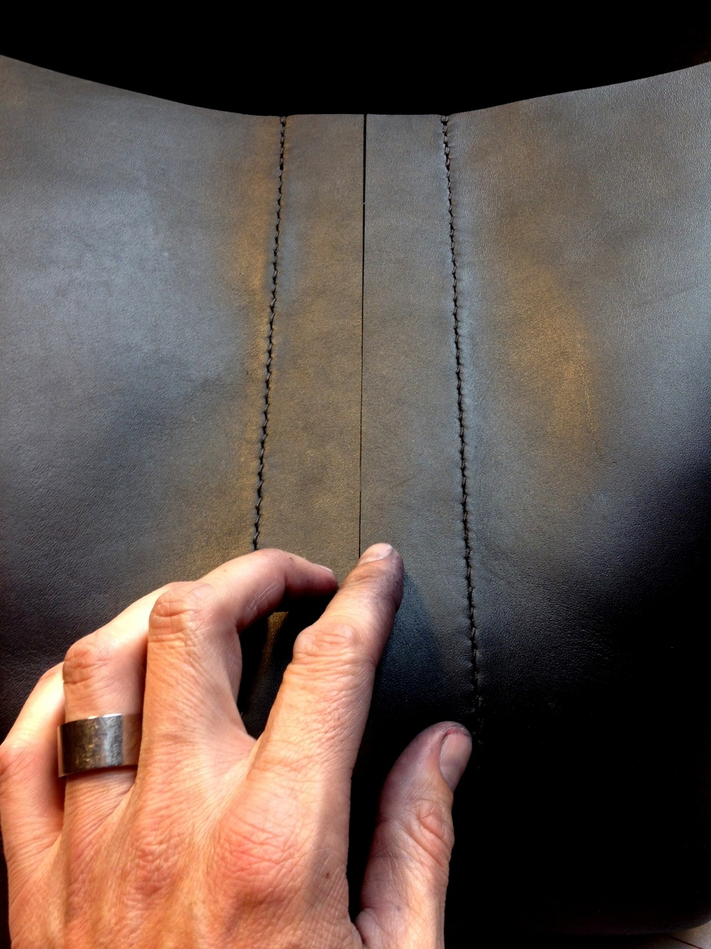 Gusset Stitching