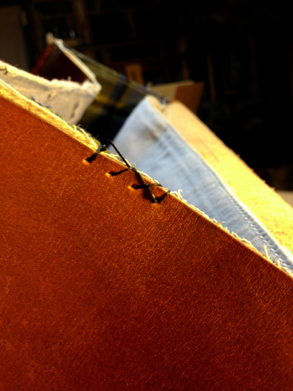 Installing Liner/Sewing Binding