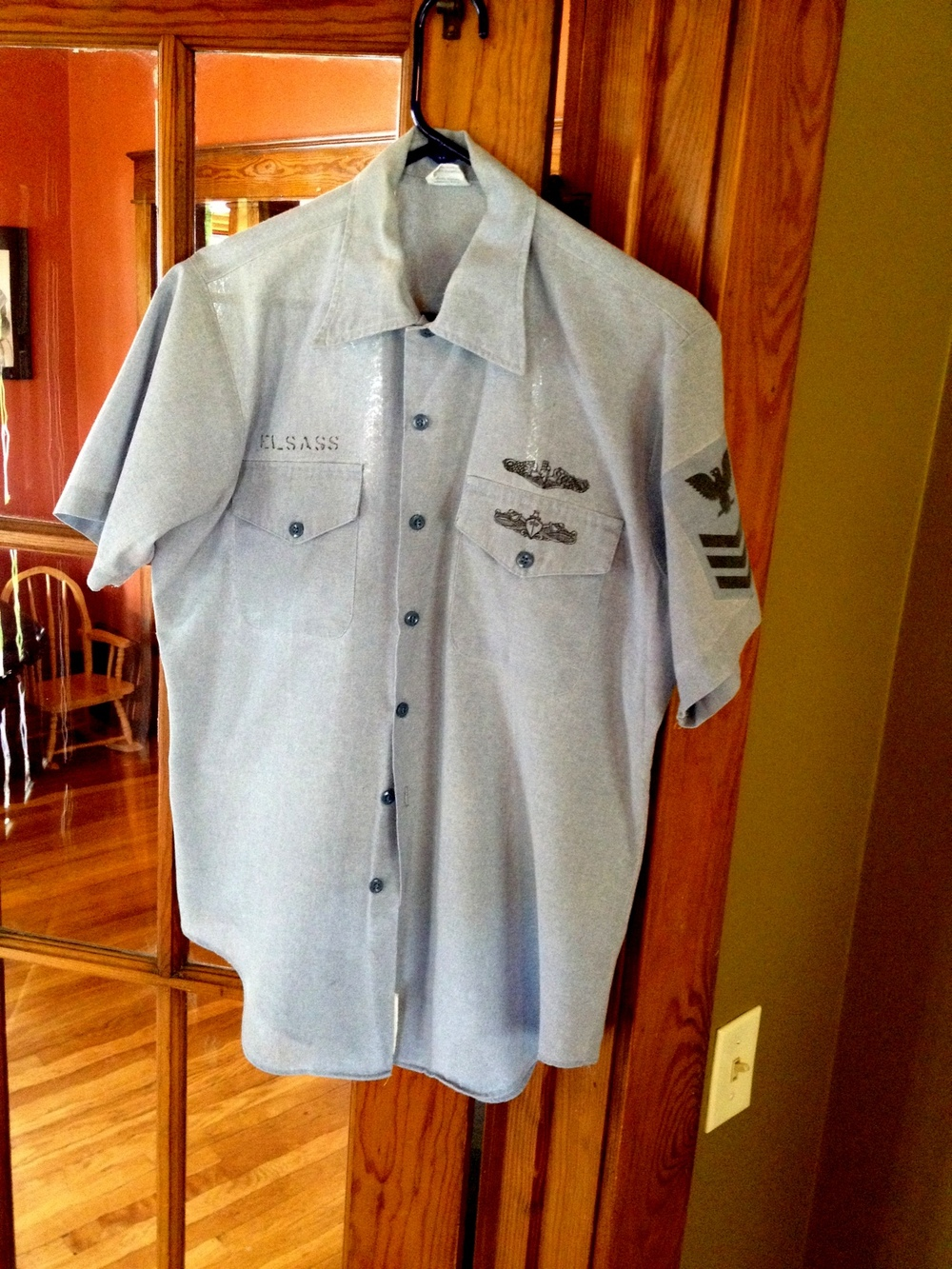 Untouched USN Chambray Shirt