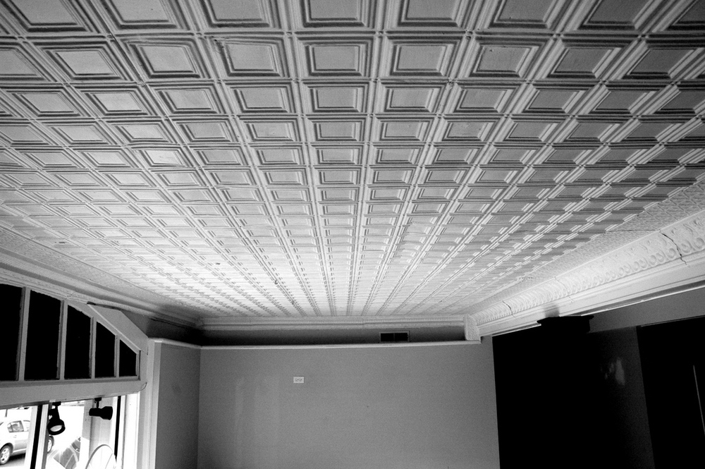 Foyer Tin Ceiling