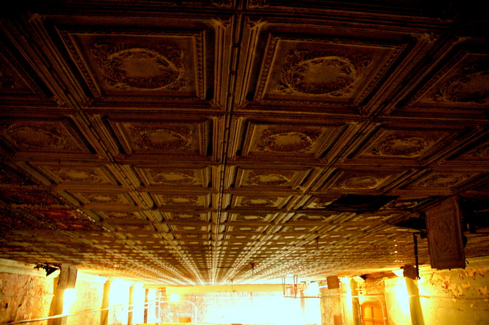 4800 sf of tin ceiling bliss