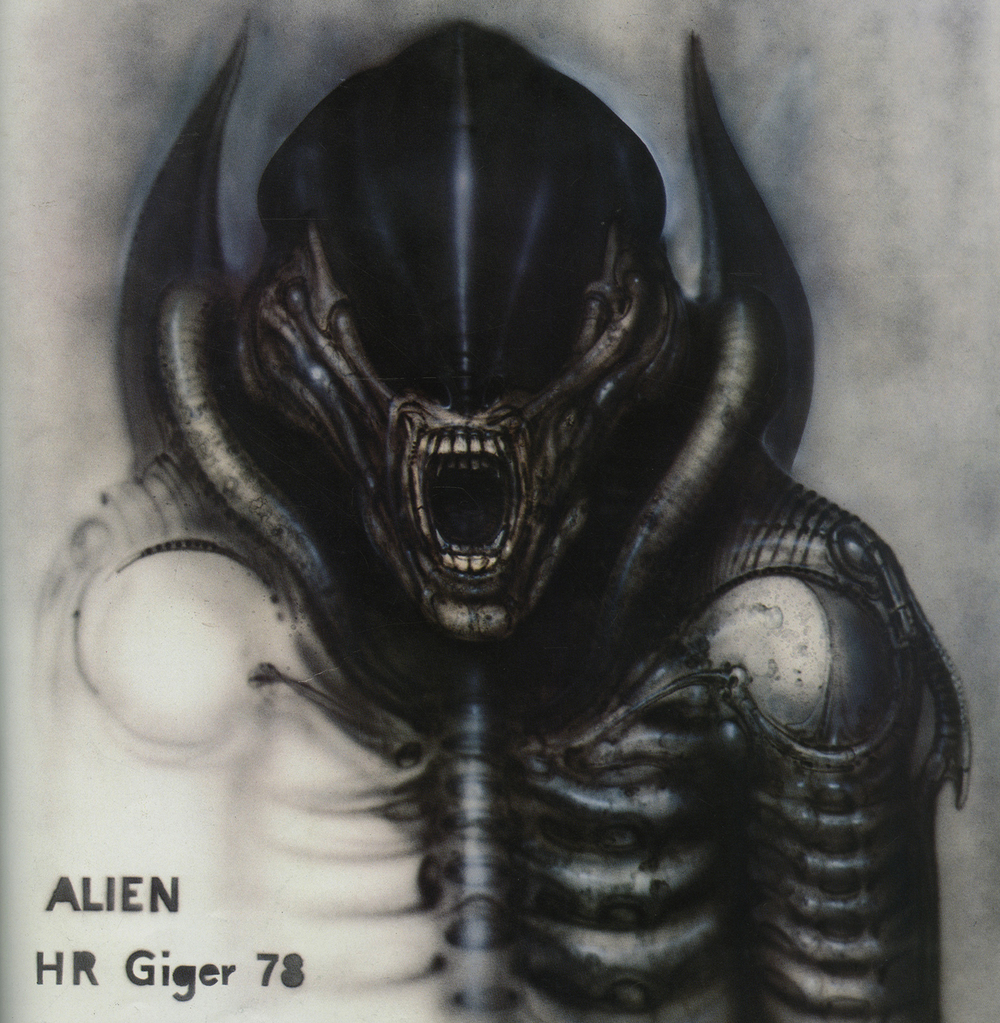 "Collection inspiration, H.R. Giger's ""Alien."""