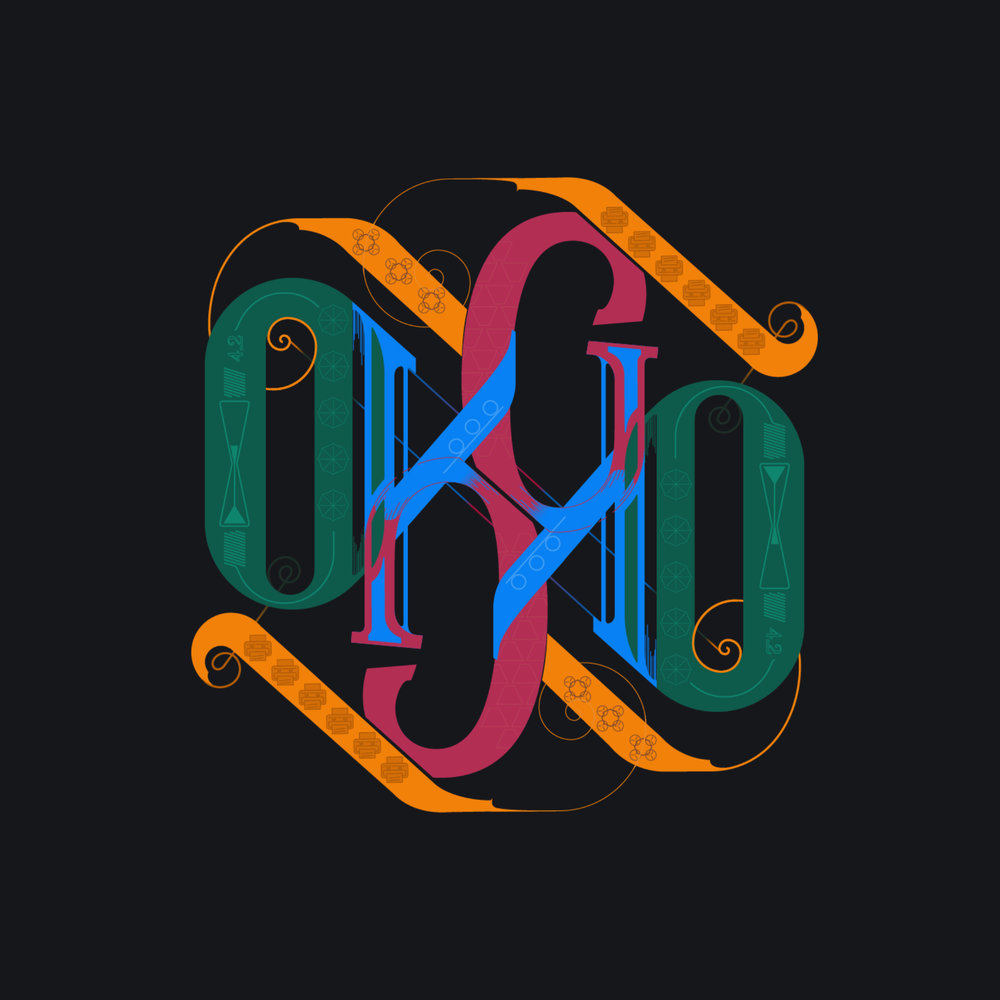 Ambigram OKGO Style 1
