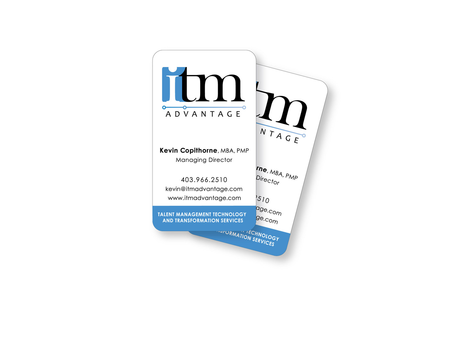 Project gallery itm logo business cards reheart Image collections