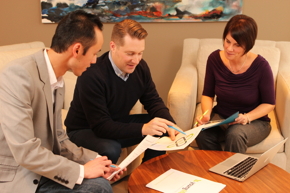 Corporate teamwork photography 1